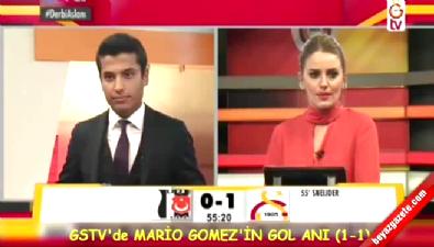 GS TV'de Beşiktaş'ın Golüne Sevindiler !