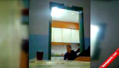 Engelli öğrencilere işkence kameralara yansıdı