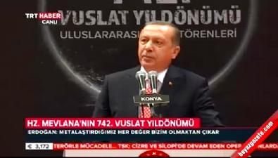 Cumhurbaşkanı Erdoğan'ın Şeb-i Arus töreni konuşması