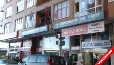 Hayatını Kaybeden DSP'li Başkanın Parti Nöbeti