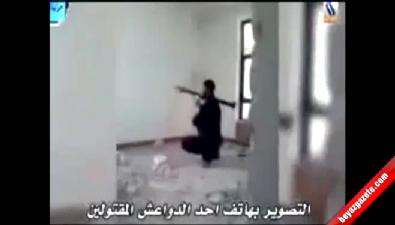 IŞİD militanı kendi roketiyle öldü