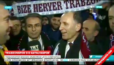 Trabzonspor Başkanı'ndan Ersun Yanal açıklaması