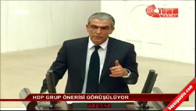 HDP'li İbrahim Ayhan'ın sözleri Meclis'i karıştırdı