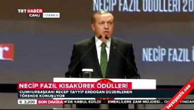 Cumhurbaşkanı Erdoğan: Bizim farkımız işgal değil ihya, yağma değil fetihtir