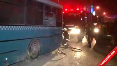 PKK'lılar halk otobüsüne molotofla saldırdı