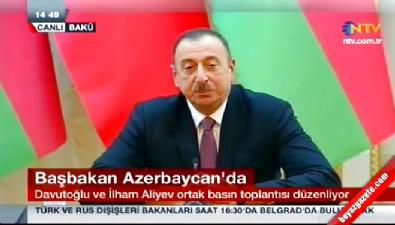 İlham Aliyev'den Türkiye'ye destek