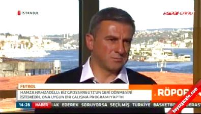 Hamza Hamzaoğlu: Mustafa Denizli'ye mesaj attım