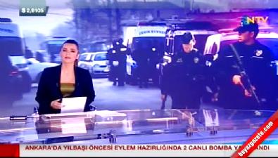 Ankara'da eylem hazırlığında iki canlı bomba yakalandı