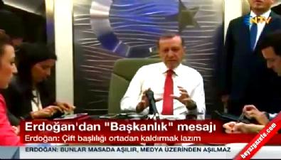 Erdoğan'dan partili cumhurbaşkanı önerisi