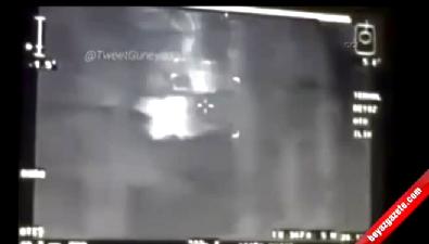 PKK'lıların vurulma anı kamerada
