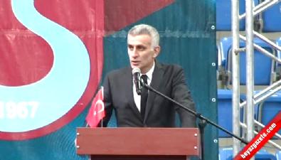 Hacıosmanoğlu kongrede konuştu
