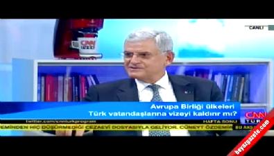 AB Bakanı Bozkır'dan vize açıklaması