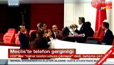 HDP'li vekiller Meclis Başkanvekili'nin üzerine yürüdü