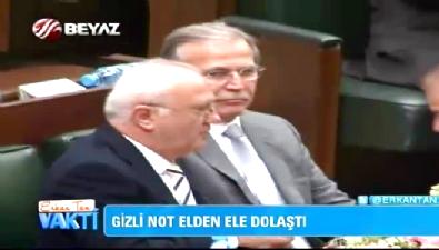 Davutoğlu'nun gözleri Efkan Ala'yı aradı