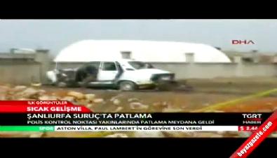 Suruç'ta Polis Noktasına Bombalı Saldırı