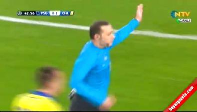 David Luiz ve Zlatan İbrahimovic'ten Cüneyt Çakır'a büyük oyun