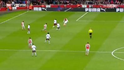 Arsenal 5-0 Aston Villa maç özeti ve goller