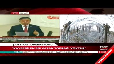 Milli Savunma Bakanı İsmet Yılmaz'dan Karakoç şiiri (Şah Fırat Operasyonu)