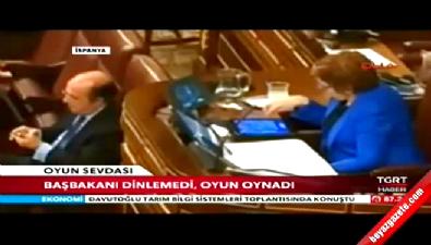 Meclis başkanı fena yakalandı