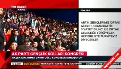 Başbakan Davutoğlu: Silahın dili sona erecek