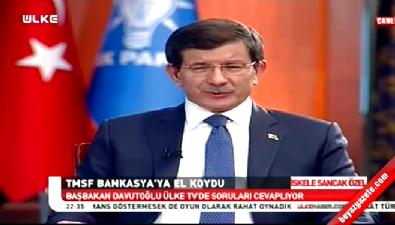 Davutoğlu: Bank Asya'ya el koyma sürecinde ayrımcılık yoktur