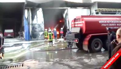 Mersin'de akaryakıt tankı patladı: 2'si ağır 4 kişi yaralandı