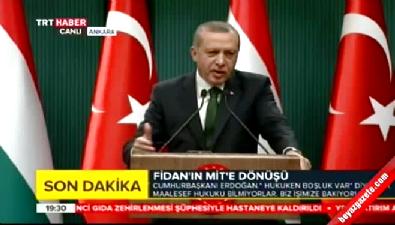Cumhurbaşkanı Erdoğan'dan Merkez Bankası yorumu
