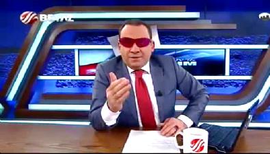 Erkan Tan canlı yayına gözlükle çıktı