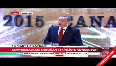 Cumhurbaşkanı Erdoğan: Sağlık personeline kalkan el ihanet zincirinin uzantısıdır