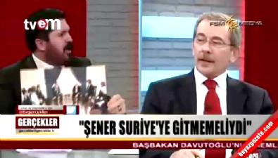 Savcı Sayan'dan Abdüllatif Şener'e: Esed ile ne işiniz var?
