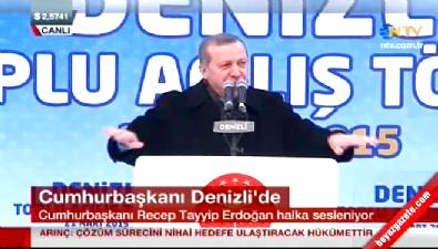 Cumhurbaşkanı Erdoğan'dan türkülü gönderme