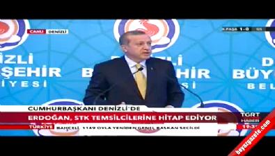 Cumhurbaşkanı Erdoğan: Ben konu mankeni değilim