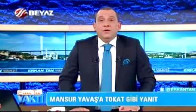 mansur yavas - Beyaz TV Spikeri Erkan Tan'dan Mansur Yavaş'a tokat gibi yanıt