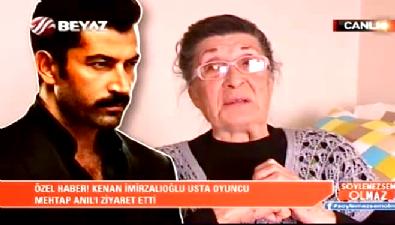 Kenan İmirzalıoğlu Mehtap Anıl'ı ziyaret etti