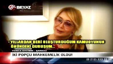 Yonca Evcimik'ten Hande Yener'e ağır gönderme