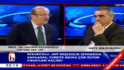 Bekaroğlu: Erdoğan Türkiye'nin ustasıdır