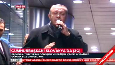 Erdoğan: Mesele ülkeyi bölmek