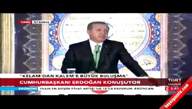 Cumhurbaşkanı Erdoğan: Kültürümüzü yok etmeye çalışıyorlar