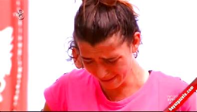 Survivor All Star / Merve Aydın pizzayı görünce ağladı