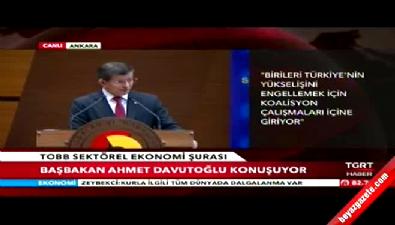 Başbakan Davutoğlu'ndan Kılıçdaroğlu'na sert eleştiri