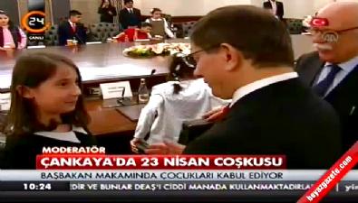 10 yaşındaki Pelinsu Başbakan koltuğuna oturdu