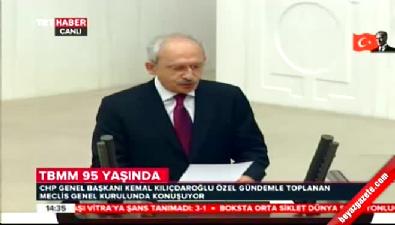 CHP lideri Kılıçdaroğlu'ndan Meclis'te 23 Nisan konuşması