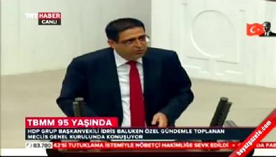 İdris Baluken'den Meclis'te 23 Nisan konuşması