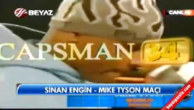 Sinan Engin-Mike Tyson boks maçı