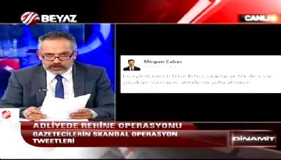 Latif Şimşek'ten Mirgün Cabas'a: Yazıklar olsun