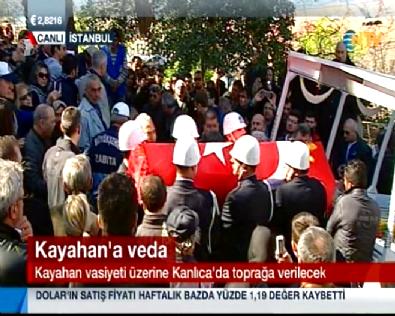 Kayahan Vasiyeti Üzerine İstanbul Kanlıca'da Defnedildi