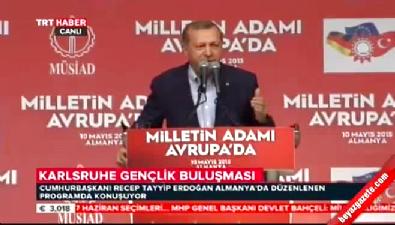 Cumhurbaşkanı Erdoğan: Alevilik Hz. Ali'yi sevmekse benden daha Alevisi olamaz