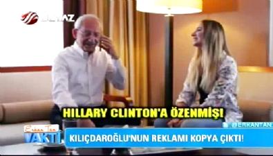 Kılıçdaroğlu'nun anneler günü reklamı kopya çıktı