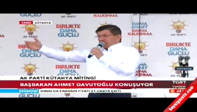 Başbakan Davutoğlu: Cumhurbaşkanımıza kimse dil uzatamaz