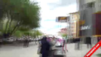 HDP'nin Kırşehir mitinginde olaylar çıktı